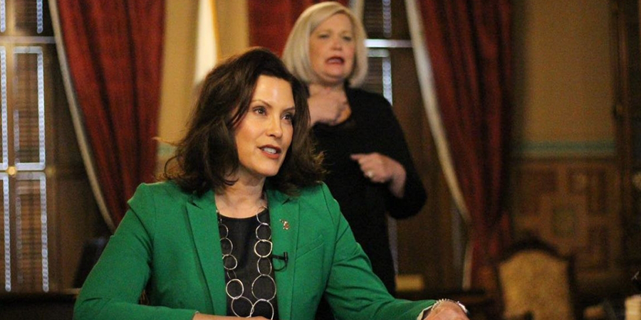 Michigan Governor Whitmer Extends Stay at Home Order
